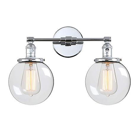 Amazon.com: Phansthy - Lámpara de pared con forma de globo ...
