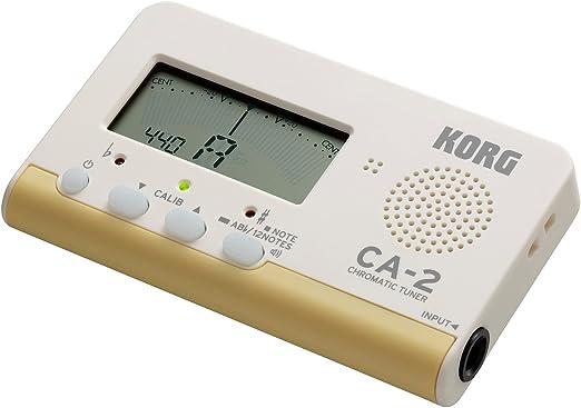 Afinador digital cromático Korg CA-2 para instrumentos de cuerda e ...
