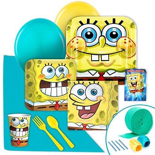 SpongeBob Squarepants Value Party Pack by BirthdayExpress (Squarepants Party Spongebob Birthday Invitations)