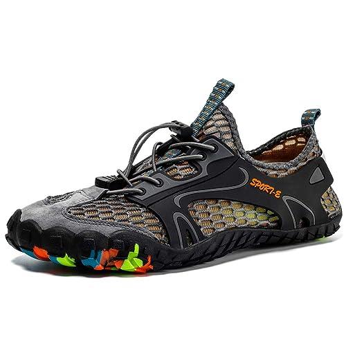 Zapatos de Agua Hombre Mujer Zapatillas Senderismo Playa Yoga Deportes Secado Rápido Al Aire Libre Fitness