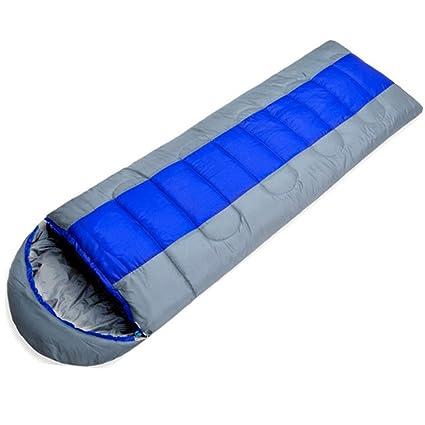 Impermeable de peso ligero Saco de dormir Cálido Campo Sobres Portátiles Cálido Portátil Puede Luchar Juntos