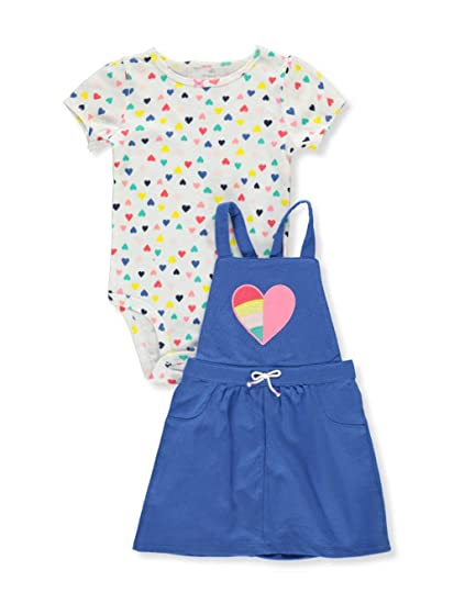 0790f4f4be06 Amazon.com  Carter s Baby Girls  2 Piece Heart Print Bodysuit and ...