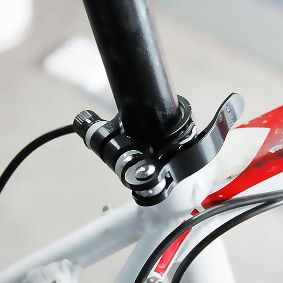 Abrazadera Tija De Sillín Bicicleta 6 x 55 mm Negro: Amazon.es: Deportes y aire libre