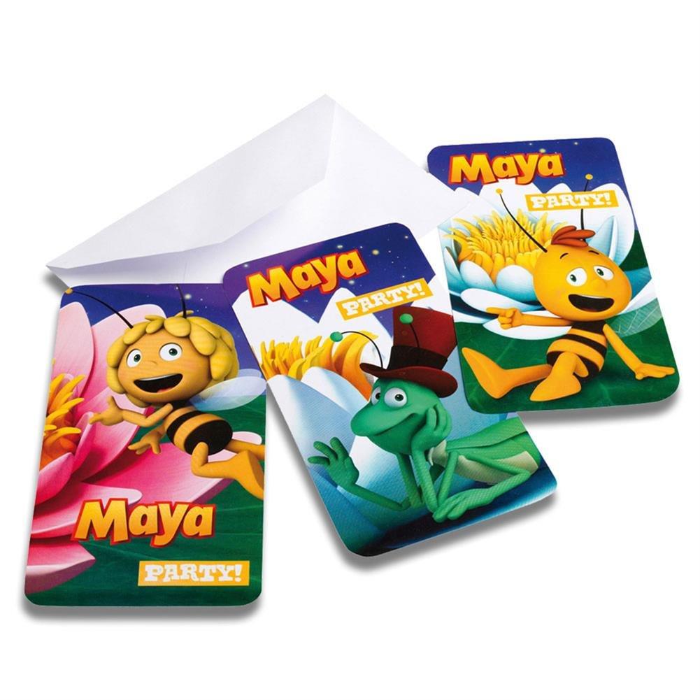 2 x - Juego de 6 tarjetas de invitación Cumpleaños ...
