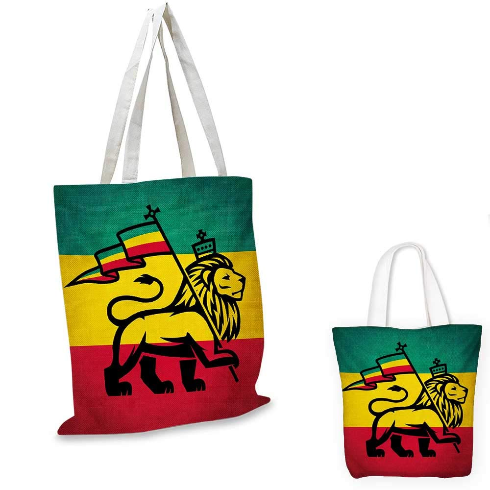 16x18-13 Rainforest canvas messenger bag Tropical Rainforest and Rocky River in Selangor State Malaysia Asian Wildlife canvas beach bag Green Brown