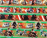 New Disney Star Wars VILLAINS Darth 70 sq ft Wrapping Paper