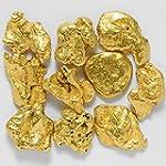 10 Pieces Alaska Natural Gold Nuggets Or Flake Specimen