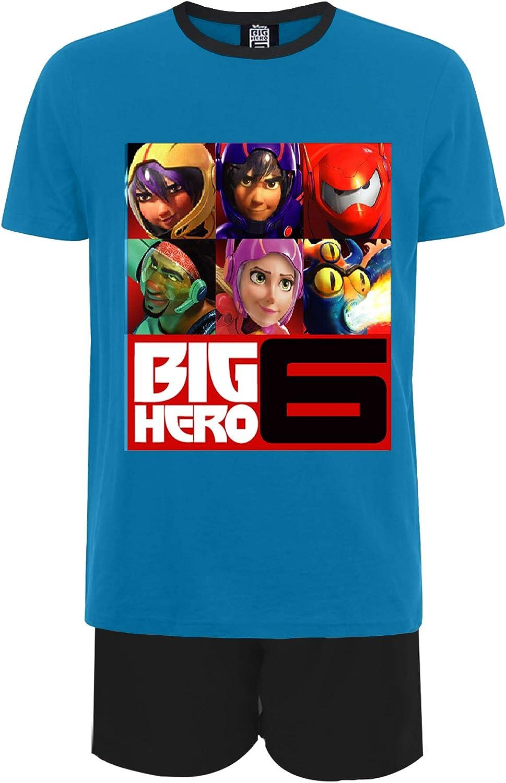BIG HERO 6 BAYMAX SHORT PYJAMAS PJS BOYS GIRLS