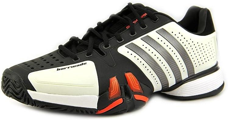 Amazon.com | adidas Men's Adipower Barricade V23749 White Iron ...