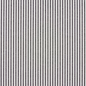 A566 Black And White Ticking Stripes Cotton Heavy Duty Upholstery Fabric By The Yard