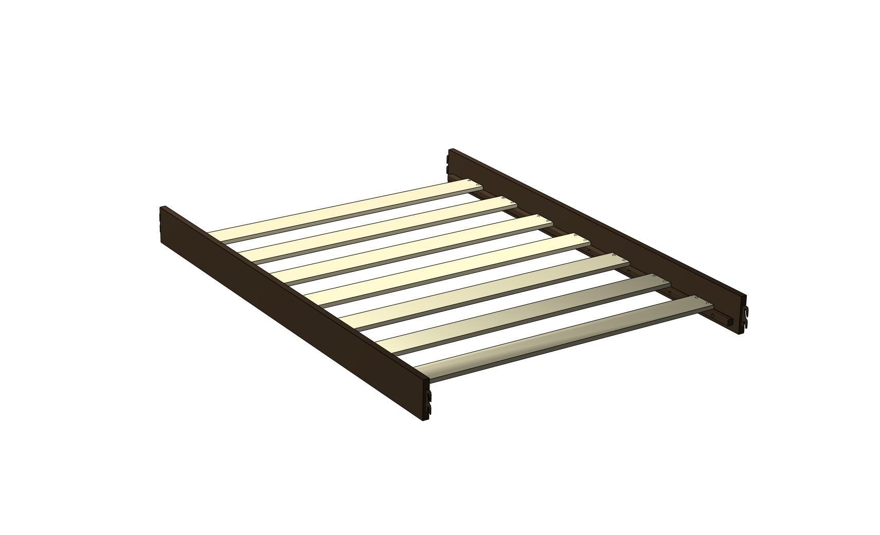 Westwood Design Donnington Platform Bed Rails, Santa Fe