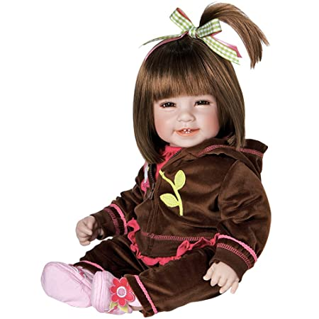 Adora Baby Doll 20 inch Workout Chic Brown Hair/Brown Eyes Dolls & Accessories at amazon