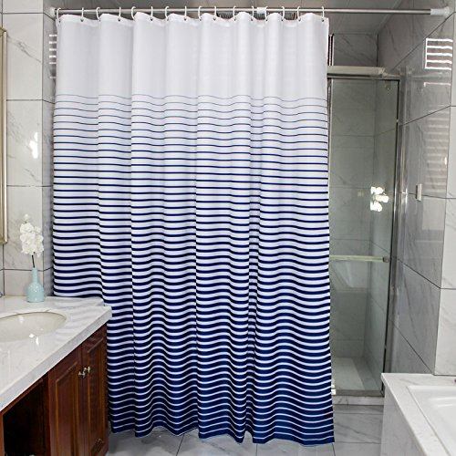 Ufaitheart Bathroom Stall Size Shower Curtain 36 X 72 Inch Water Repellent Fabric