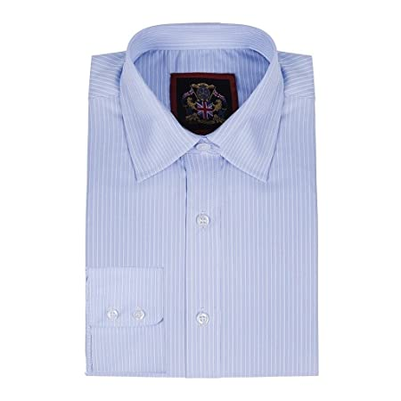 Janeo British Apparel Camisa de Manga Larga para Hombres, Modelo ...