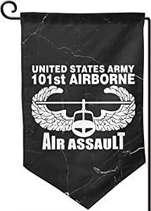 Falsdqhjwoeo US Army 101st Airborne Air Assault Flag 12.5 X18in Party Flag Home Flag Garden Flag Outdoors Flag