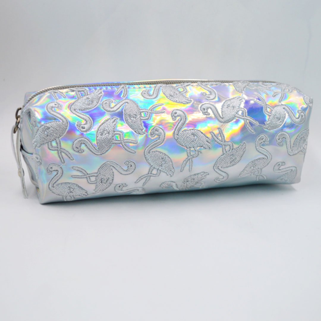 Amazon.com : Rebecca Holographic Laser Pencil Case ...
