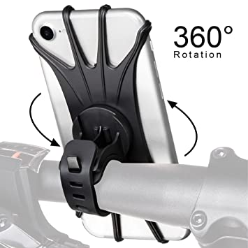 StillCool Soporte del Teléfono Móvil para Bicicletas y Motos,360 ° Giratorio para Cualquier teléfono