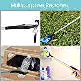 "Reacher Grabber by VIVE - Rotating Grip - 32"" Extra Long Handy Mobility Aid - Reaching Assist Tool for Trash Pick Up, Litter Picker, Garden Nabber, Disabled, Arm Extension"