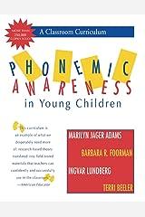 Phonemic Awareness in Young Children: A Classroom Curriculum Espiral