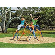 Easy Outdoor Space Dome Climber – Rust and UV Resistant Steel – 1000lb. Capacity – For Kids Ages 3 to 9