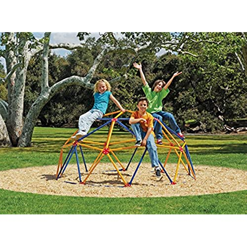 Easy Outdoor Space Dome Climber - Rust and UV Resistant Steel - 1000lb.  Capacity - For Kids Ages 3 to 9 - Backyard Play Structures: Amazon.com