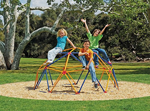 Find Discount Easy Outdoor Space Dome Climber - Rust and UV Resistant Steel - 1000lb. Capacity - For...