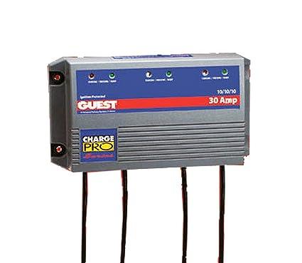 Amazon.com: Marinco Cargador de batería 2631 Marina, 30 Amp ...