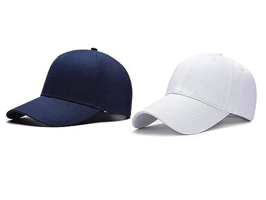 Babji Combo Blue   White Baseball Cap  Amazon.in  Clothing   Accessories 6239d9ef359