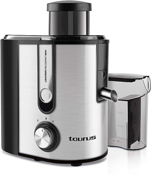 Taurus Pro Compact Licuadora centrífuga, INOX: Amazon.es: Hogar