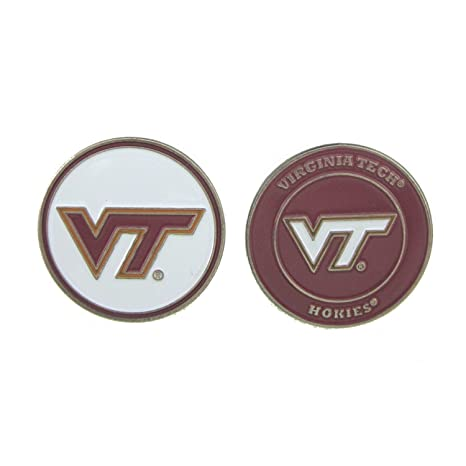 5a201644eaf Amazon.com   Virginia Tech Hokies Golf Ball Marker   Sports   Outdoors