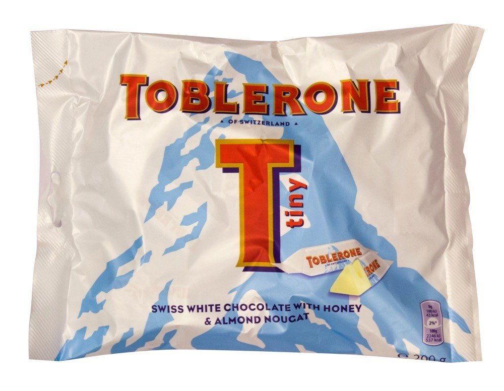 Toblerone White Chocolate Minis