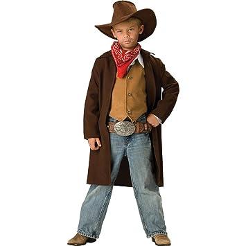 Disfraz Vaquero para niño -Premium - 6 - 7 años (M)  Amazon.es ... e0cd4161e97