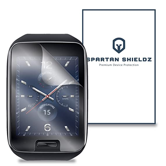 6X - Spartan Shields Premium HD Screen Protector For Samsung Gear S Smartwatch - 6X