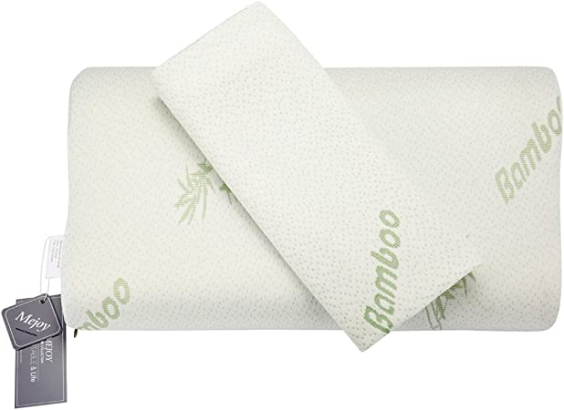 Mejoy Neck Care Pillow Bamboo Fiber