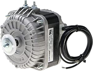 Shaded Pole Motor 120V 60Hz 1.01A 18W AC Fan Motor for Small Ventilation Equipment,Refrigeration Equipment Radiator Evaporator (YZF18-25)