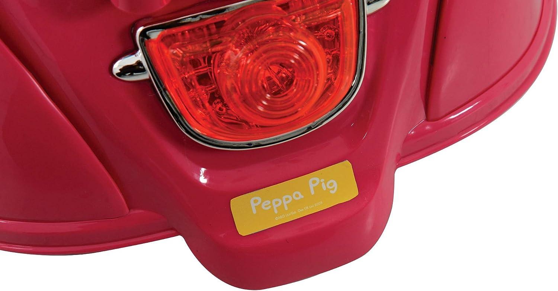 Bater/ía para Motocicleta 6 V Color Rosa Peppa Pig M09370 Producto con Enchufe de UK