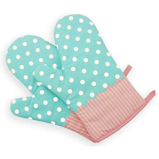 XRS algodón horno guantes de algodón acolchado forro resistente al ...