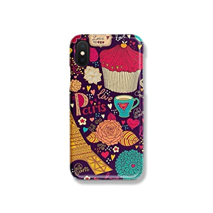 Amazon.com: Fun Tiled Tower - Carcasa rígida para iPhone X ...