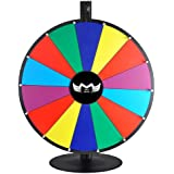 """MegaBrand 24"""" Tabletop Color Dry Erase Spinning Prize Wheel 14 Slot"""