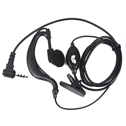 Amazon Com Kjd Original Earpiece Headset For Bf T1 Kjd Uhf400 470