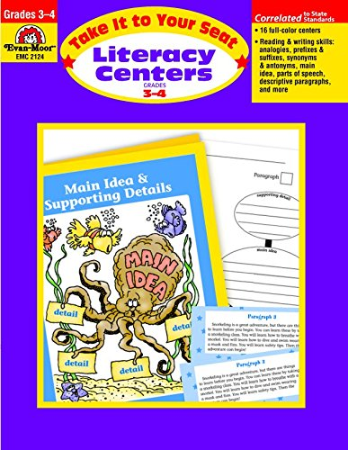 Take It to Your Seat Literacy Centers, Grade (Primary Literacy Centers)