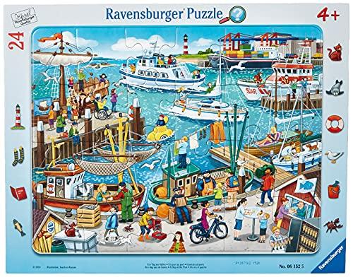 Ravensburger-00.006.152 Un día en el Puerto, Color Teal/Turquoise Green (00.006.152)