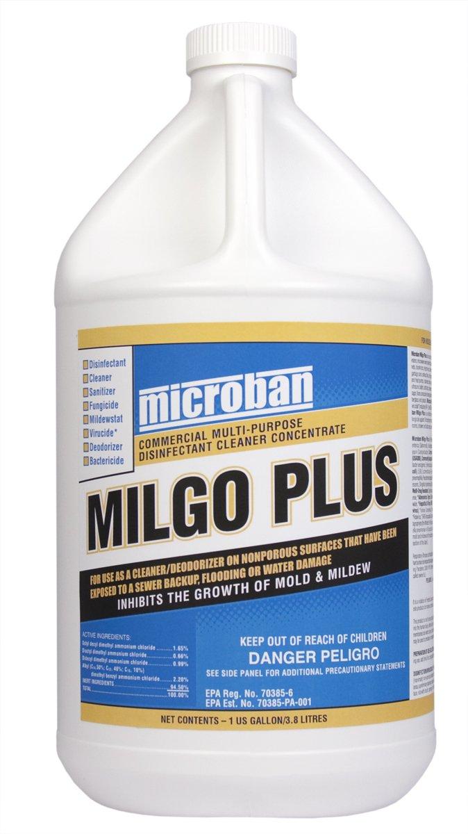 Dri - Eaz - Microban - Milgo Plus - Disinfectant4 Gallons = 1 Case - F447