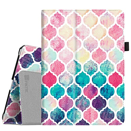 Fintie iPad 9.7 2018/2017, iPad Air 2, iPad Air Case - [Corner Protection] Premium Vegan Leather Folio Stand Cover, Auto Wake/Sleep for Apple iPad 6th / 5th Gen, iPad Air 1/2, Moroccan Love