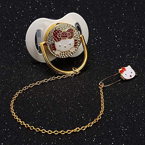Amazon.com  MIYOCAR bling bling lovely cat crystal rhinestone prince crown Baby  Pacifier Nipples  Dummy cocka  chupeta baby gift babyshower  Handmade ab0f56813efb