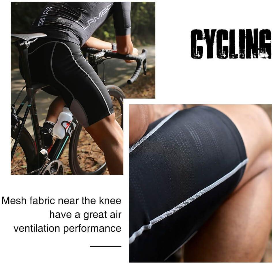 Swallow Mens Cycling Shorts 3D Gel Padded Bike Shorts Breathable MTB Shorts for Road Bike