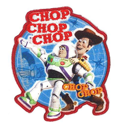 ミノダ ディズニーピクサー 2WAYワッペン 大きいサイズ トイストーリー チョップ D01Y9528の商品画像