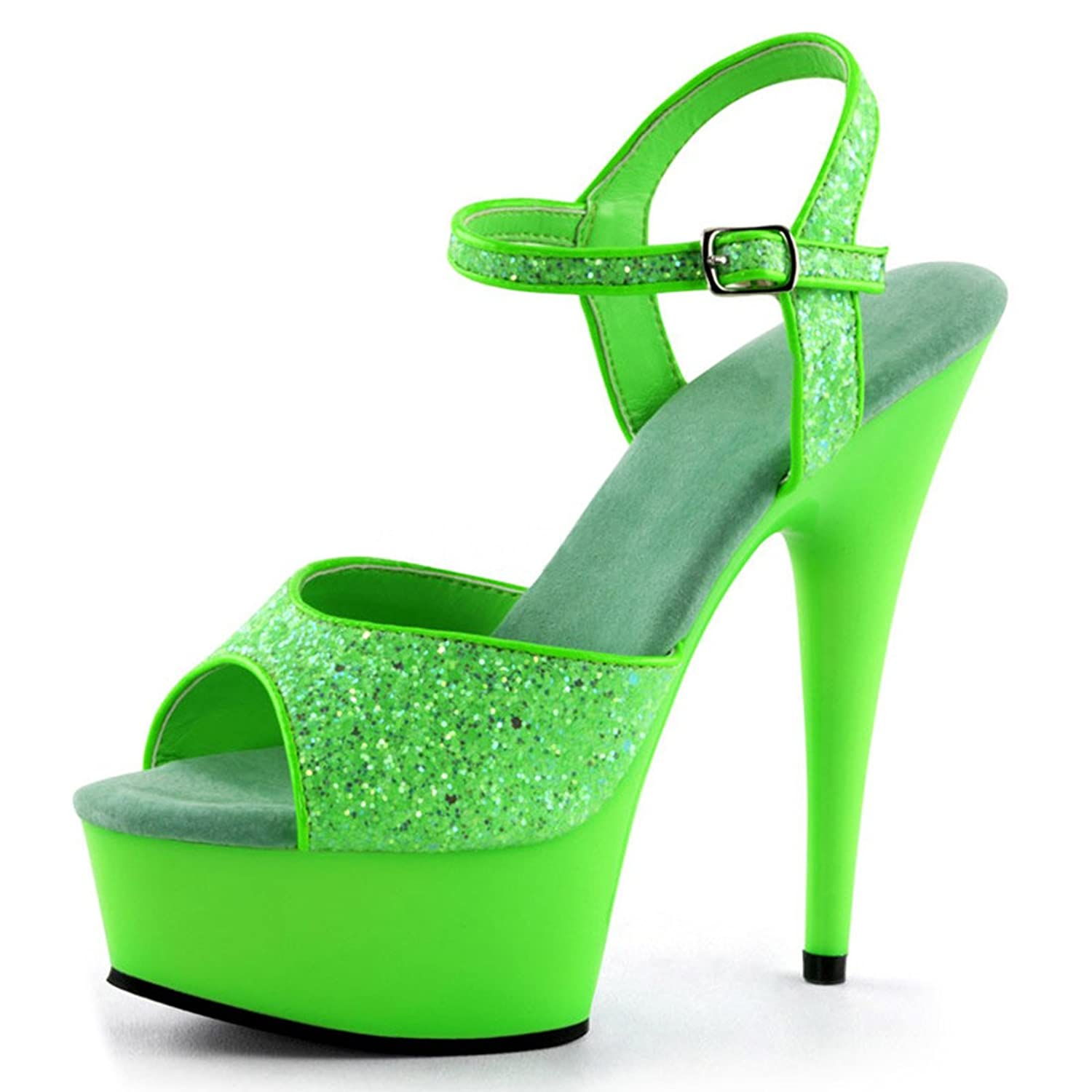 lime green platform heels ha heel