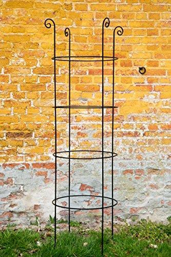 Kuheiga Stabile Rankhilfe Metall H 200cm O 59cm Rankgerust Obelisk
