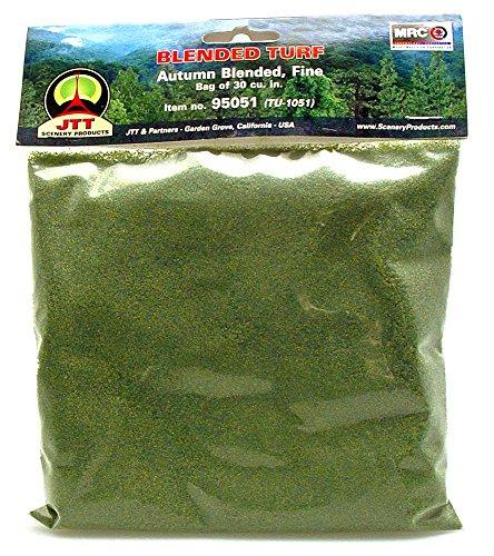 JTT Landscaping Material - Blended Turf, Autumn Blended, Fine -  JTT Scenery Products, 95051
